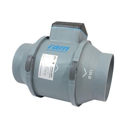RAM Kanalfläkt - 125mm  225 / 248 m³