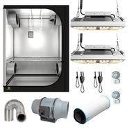 SJ Darkroom 150W Telos LED Expert 150x90x200cm