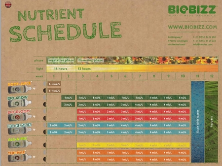 BioBizz Try-Pack Outdoor Starter Kit