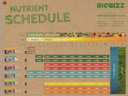 "BioBizz ""Starters Pack"" Biologisk näring"
