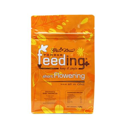 Green House Powder Feeding Short Flowering