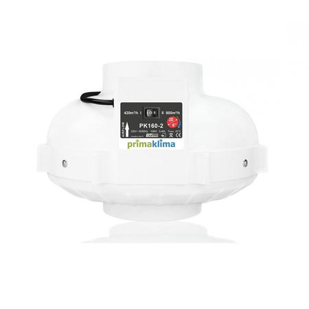 PrimaKlima fläkt 160mm 2 hastigheter - 420/800 m³/tim