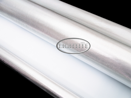 Silver Lightite Diamond Mylar 10m rulle