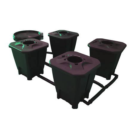 IWS Oxy-Pot R-DWC 4 Pot System