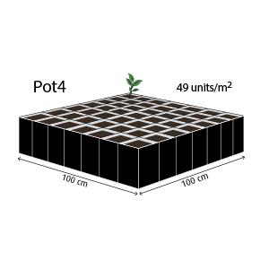 UgroCoco Pot4 Rhiza